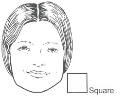 Face shape square