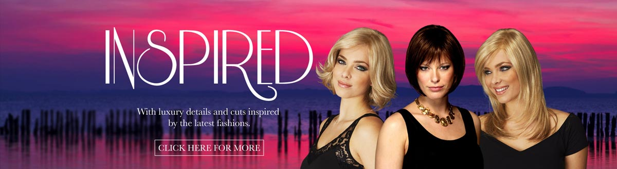 Inspired wigs with luxury details and cuts inspired by the latest fashions